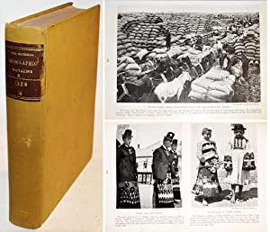NATIONAL GEOGRAPHIC MAGAZINE, VOLUME LVI : October-December 1929. Nr 4-5-6 bound in 1 volume.