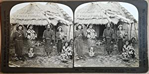 JAPAN PERFEC-STEREOGRAPHS: Stereoviews Boxed Set - 94 photos stéréoscopiques Japon 1901-1908