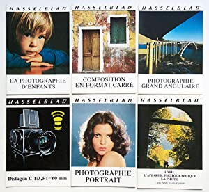 HASSELBLAD Lot de 6 Brochures 1976 - 1977 : Distagon C 1:3,5 f 60 mm - La photographie d'enfants ...
