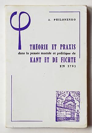 Métaphysique et politique chez Kant et Fichte - Alexis Philonenko