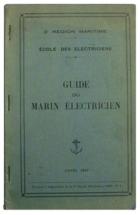 GUIDE DU MARIN ELECTRICIEN.
