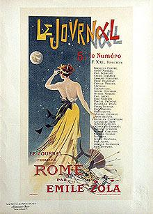 ROME, in LE JOURNAL - Pl. 155.: LUCAS Charles
