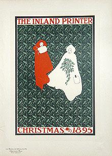 CHRISTMAS 1895 - The Inland Printer - Pl. 172. Maîtres de l'Affiche