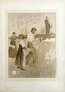 TRAVAILLEURS DE FRANCE - Pl. 198. Maîtres: MOREAU-NELATON Etienne