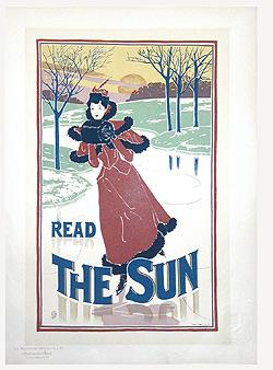 READ THE SUN - Pl. 200. Maîtres de l'Affiche