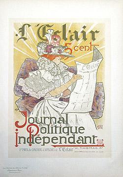 L'ECLAIR Journal politique indépendant - Pl. 222.: THOMAS H.