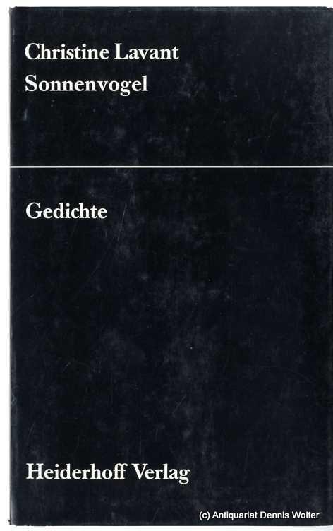Sonnenvogel : Gedichte - Lavant, Christine