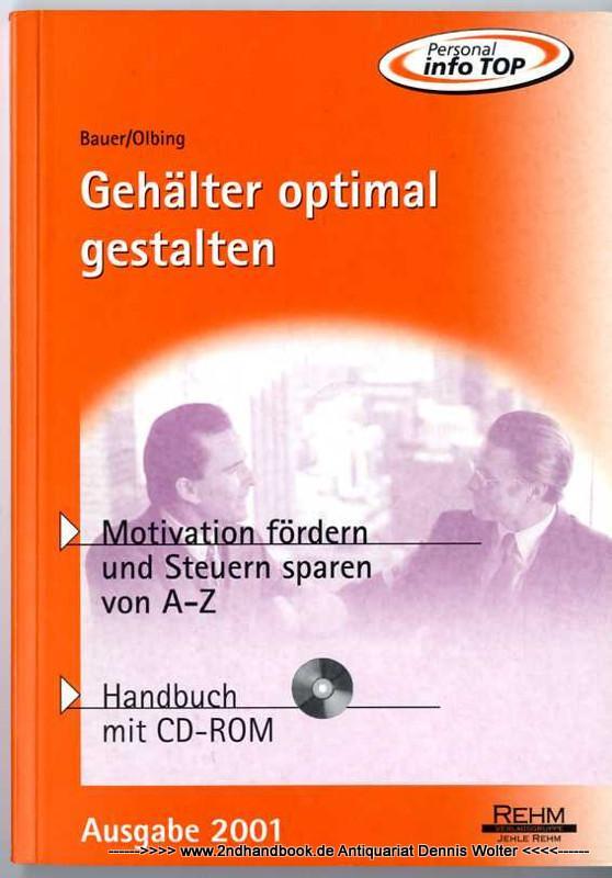 Gehälter optimal gestalten: Bauer, Johann Baptist