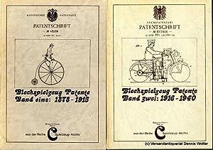 Blechspielzeug-Patente. Bd. 1. 1878 - 1915 +: Cieslik, Marianne und