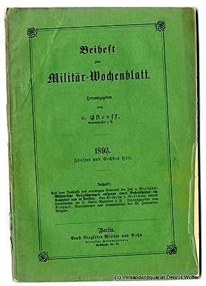 Militärische Aufzeichnungen während eines Aufenthaltes im Kaukasus: Wilhelm von Grolman;