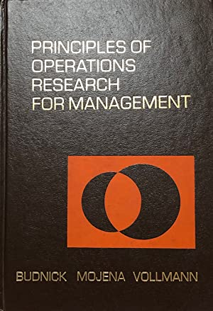 Principles of Operations Research for Management