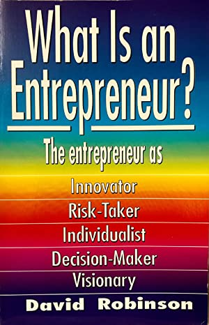 What Is An Entrepreneur'