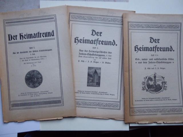 Der Heimatfreund - Heft I: Aus der: EITH P., GEIGER