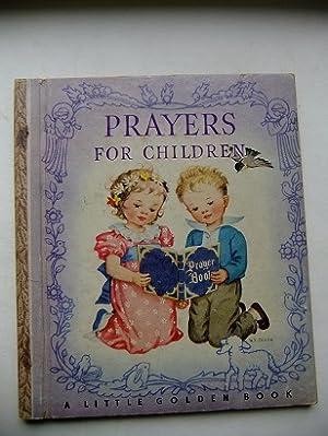 Prayers for Children. Illustrated by Rachel Taft: DIXON, Rachel Taft: