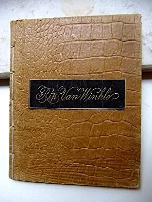 Rip Van Winkle. A Legend of the: IRVING Washington.: