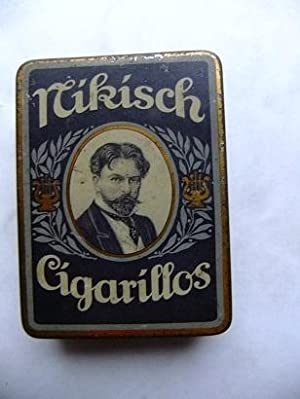 Originalblechdose - Nikisch Cigarillos.: NIKISCH, Arthur: