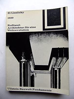 1929 - Rußland: Architektur für die Weltrevolution.: Lissitzky, El:
