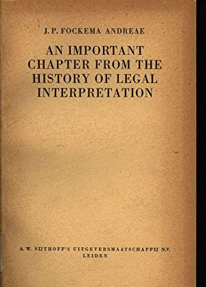 An important Chapter from the history of legal interpretation. The Jurisdiction of the First Perm...