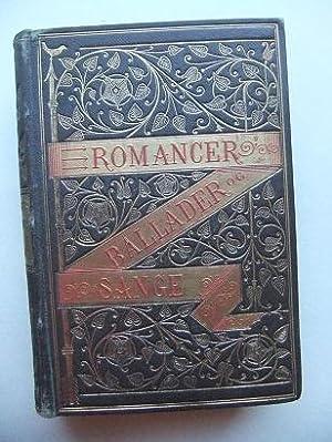 Romancer, Ballader og Sange af norske, svenske,: WINTER-HJELM K. A.: