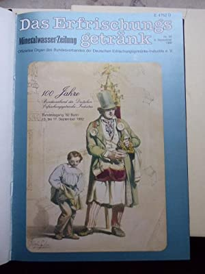 100 Jahre Verband Erfrischungsgetränke-Industrie 1882 - 1982.