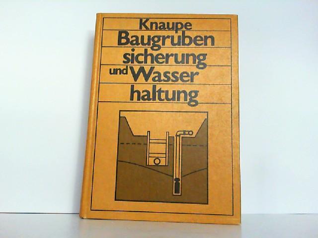 Knaupe 1973 Erdbau Gewinnen Transportieren Einbauen Erdbauwerke W Baugewerbe