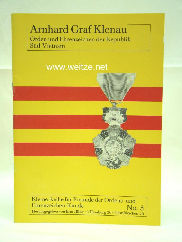 Orden und Ehrenzeichen der Republik Süd-Vietnam,: Klenau, A. Graf,:
