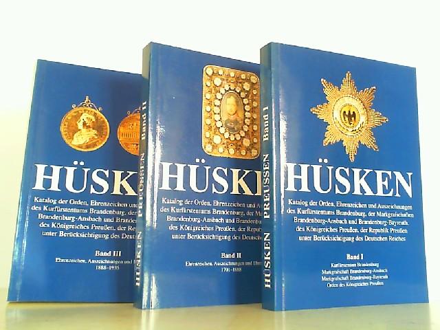 Katalog der Orden, Ehrenzeichen und Auszeichnungen des: Hüsken, A.,: