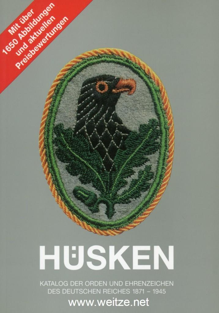 Katalog der Orden und Ehrenzeichen des Deutschen: Hüsken, Andre: