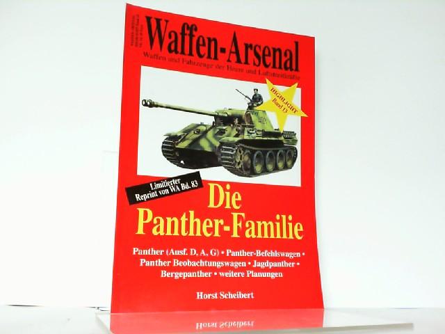 Waffen-Arsenal. Highlight Band 13: Die Panther-Familie. Waffen: Scheibert: