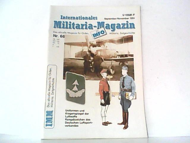 Internationales Militaria - Magazin. ( IMM ).: Hormann, Jörg-M. (