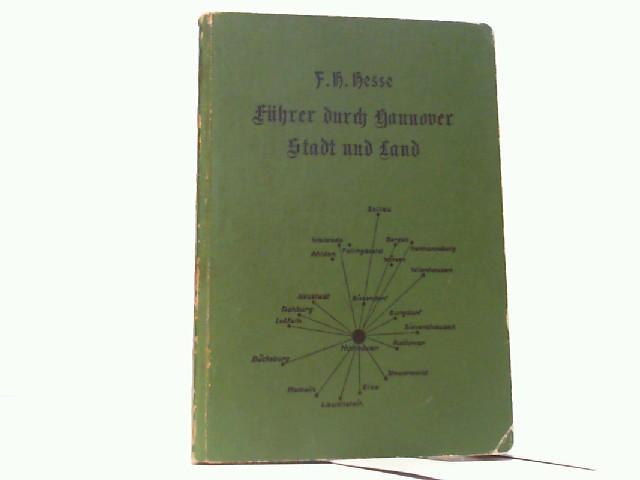 Heimatkundliche Wahrzeichen. Ein Begleiter auf Wanderungen durch: Hesse, F.H.: