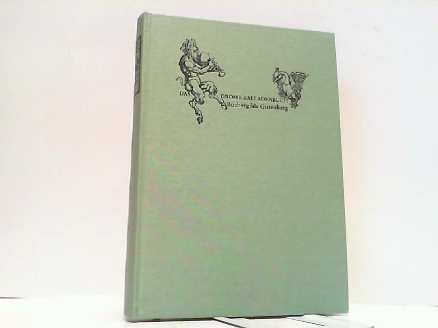 Das große Balladenbuch.: Preußler, Otfried und