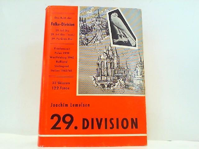 Das Buch der Falke-Division. 29. Infanterie-Division, 29.: Lemelsen, Joachim: