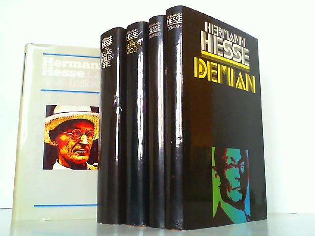 5 Bücher: 1. Große Erzählungen. / 2.: Hesse, Hermann: