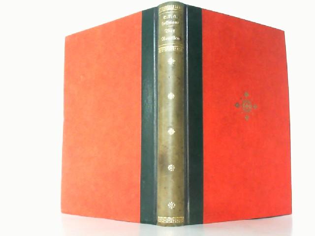 Vier Novellen.: Hoffmann, E(rnst) T(heodor)