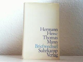 Briefwechsel. Herausgegeben von Anni Carlsson.: Hesse, Hermann -