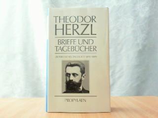 Briefe und Tagebücher. Hier Band 2. Zionistisches: Herzl, Theodor: