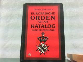 Europäische Orden Ab 1700 Katalog - Ohne: Klenau, Arnhard Graf