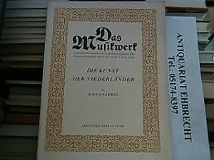 Die Kunst der Niederländer. Das Musikwerk. Eine: Lenaerts, R.B.:
