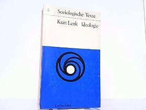 Ideologie.: Lenk, Kurt: