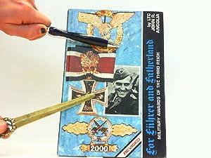 For Führer and Fatherland - Military Awards: Angolia, John R.: