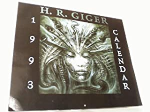 H.R. GIGER 1993 Calendar of the Fantastique.: H.R. Giger: