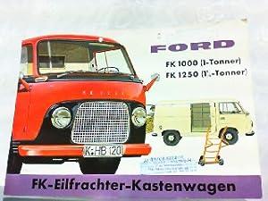 Ford FK 1000 (1-Tonner) FK 1250 (1: Ford, Werbe-Prospekt: