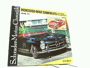 Mercedes-Benz Cabriolets 1949-71 vom 170 und 220: Schrader, Halwart: