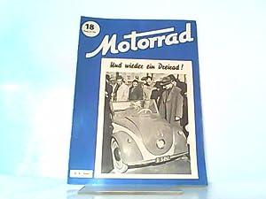 Motorrad. Heft 18. / 05. Mai 1950.: Wiesinger, Franz (Hrsg.):
