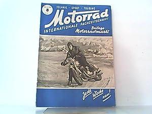 Motorrad. 4. Jahrgang Heft 8. / 23. 02. 1951. Internationale Fachzeitschrift.: Wiesinger, Franz (...
