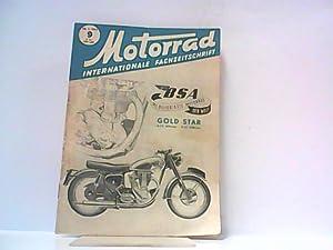 Motorrad. 6. Jahrgang, Heft 9/227, 28.02.1953. Internationale Fachzeitschrift. Mit Themen u.a.: ...