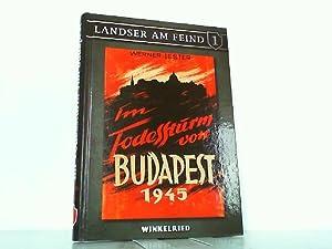 Im Todessturm von Budapest 1945. Landser am: Jester, Werner: