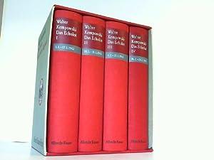Das Echolot. Ein kollektives Tagebuch. 4 Bände in Schuber. Von 1.1.1943 bis 28.02.1943.: Kempowski,...
