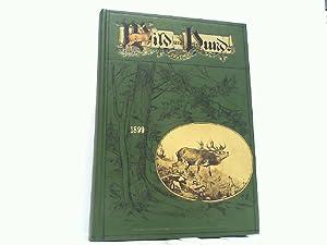 Wild und Hund fünfter (5)Jahrgang 1899 Reprint Illustrierte Wochenschrift für Jagd und Hundezucht, ...
